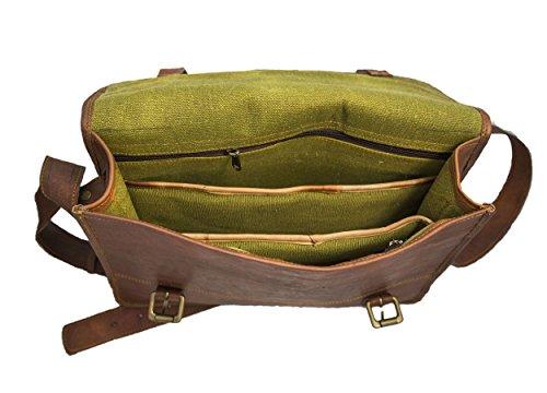crafat Borsa Messenger, brown (marrone) - MD10131