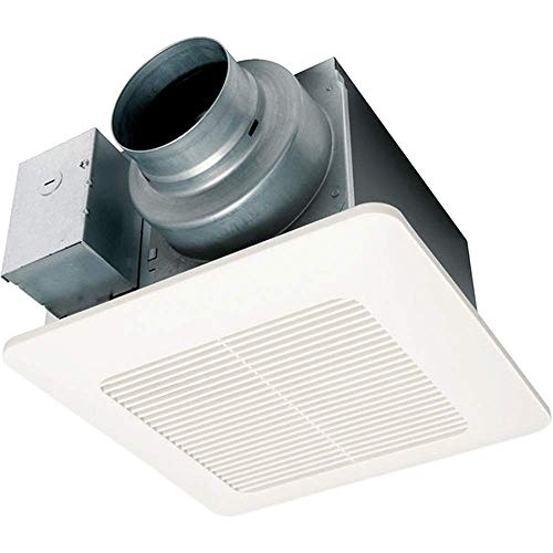 Air Fans Exhaust (Panasonic FV-0511VQ1 WhisperCeiling DC Ventilation Fan, Speed Selector, SmartFlow Technology, Quiet)