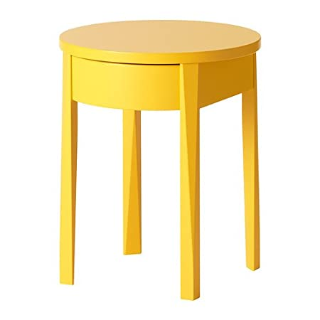 Ikea Stockholm Nachttisch Gelb 42x42 Cm Amazonde Küche Haushalt