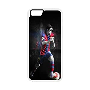 iPhone 6 4.7 Inch Cell Phone Case White Lionel Messi Barcelona Rcbrl