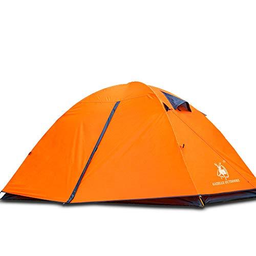 に慣れ即席英語の授業がありますHUI LINGYANG アウトドア テント 2人用 ツーリングテント 二層構造 高通気性 防雨?防風?防災 折りたたみ 簡易テント 紫外線カット 200*150*110CM 2kg