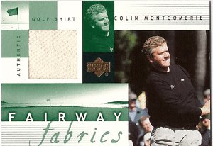 02 Upper Deck Fairway Fabrics COLIN MONTGOMERY GU Shirt