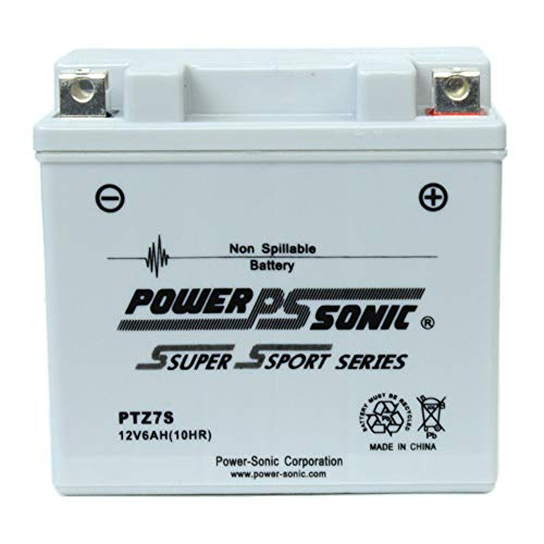 Powersonic PTZ7S 12V 6AH Battery Replacement for KTM 525 MXC Racing 2000