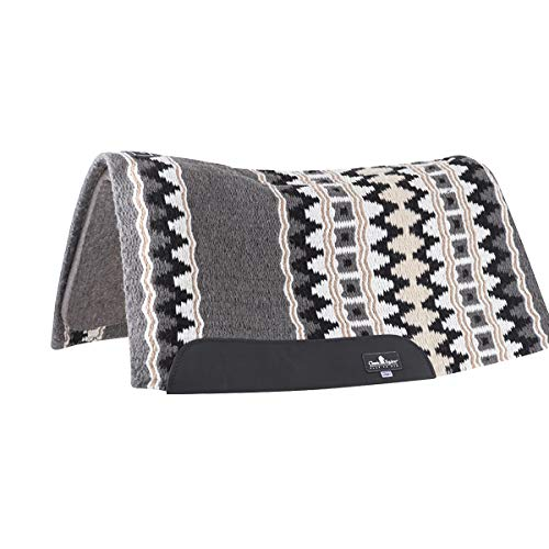 Classic Contour Wool Top 34x38 Pad 1/2in Gry/Wht