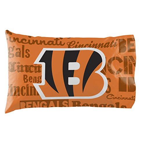 - Cincinnati Bengals - Set of 2 Pillowcases - NFL Football Bedroom Accessories