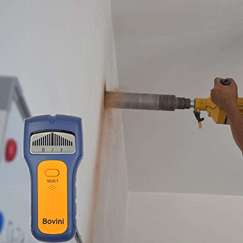 Stud Finder - Bovini MultiScanner Stud Sensor - Digital Wall Stud Finder Wood - Electronic Wall Scanner with Live AC WireWarning Detection Deep Scanning for Live AC Wire, Metal, Studs by Bovini (Image #5)