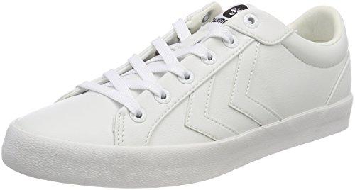 Unisexe Adulte Cour Bourdons blanc Sur Ton Deuce Sneaker Blanc fdwBExnB5q