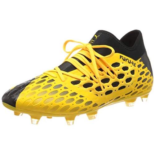 chollos oferta descuentos barato PUMA Future 5 3 Netfit FG AG Botas de fútbol para Hombre Amarillo Ultra Yellow Black 40 EU