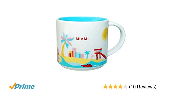 Miami Coffee Starbucks Mug14 Collection Oz Are 2013 You Here Ceramic Fl LUzMVqpSG