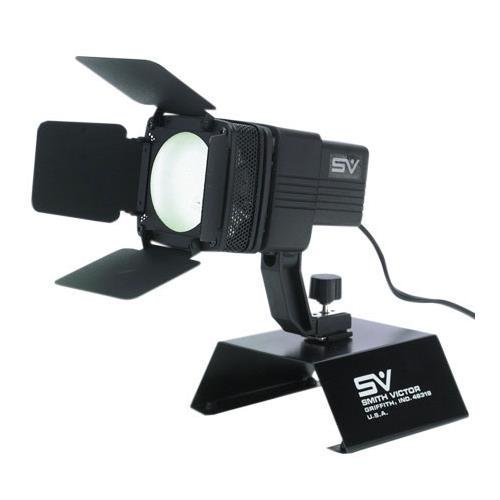 Smith Victor AL410 100w AC Video Light with Barndoors and Camera Shoe by Smith-Victor