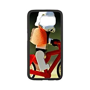 Samsung Galaxy S6 Cell Phone Case Black Funny Biker GY9281868