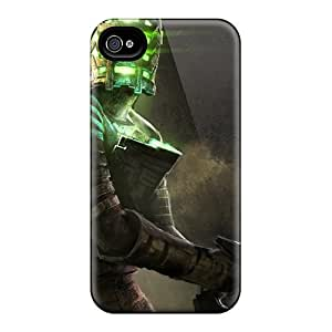 Tpu Team ProMall Shockproof Scratcheproof Dead Space Art Work Hard Case Cover For Iphone 4/4s