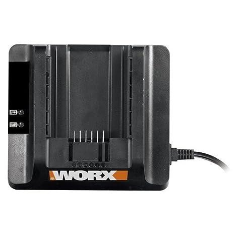 Amazon.com: Worx wa3736 40 V max pilas Cargador para WA3536 ...