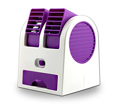 Adjustable Angles Scented USB Electric Air Conditioning Mini Fan Air Cooler