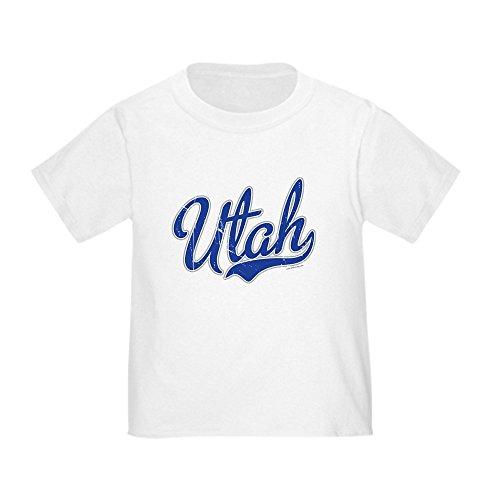 CafePress - Utah State Script Font T-Shirt - Cute Toddler T-Shirt, 100% Cotton ()