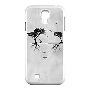 Good Phone Case With High Quality Gray Pattern On Back - Samsung Galaxy S4
