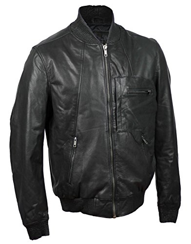 Generic Herren Jacke schwarz schwarz One size