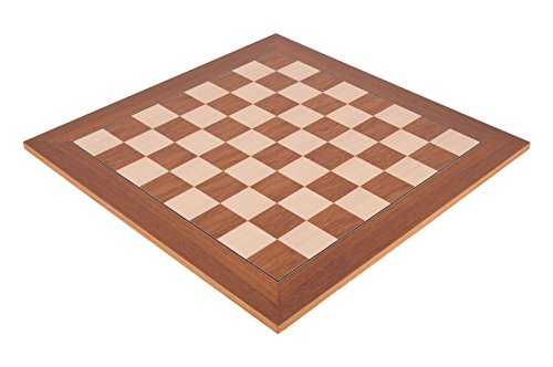 (The House of Staunton Teak Standard Traditional Chess Board - 2.25