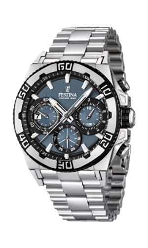 Men's Watch Festina Chrono Bike F16658/3 Tour de France 2 Years Warranty