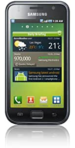 Samsung I9000 8 GB Galaxy S Unlocked GSM Smartphone with 5 MP Camera, Android OS, Touchscreen, Wi-Fi, GPS and MicroSD Slot--International Version with No U.S. Warranty (Black)
