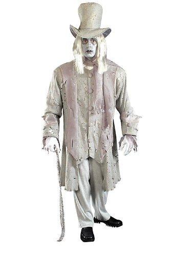 Forum Novelties Men's Ghostly Gentleman Costume, Gray/White,