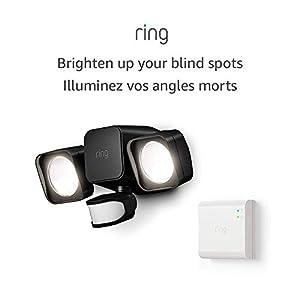 Introducing Ring Smart Lighting – Floodlight, Battery – Black (Starter Kit)