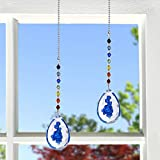 Crystal Ceiling Fan Pull Chains Chakra Hanging