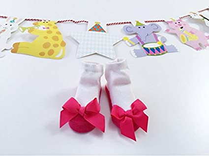 Allshope Baby Girls Princess Soft Cotton Socks Ruffle Frilly Socks