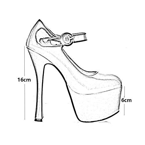 Escarpins Bout Stilettos À Classiques Dames Eu38 uk5 couleur Femmes Talons 5 Cjc T1 Taille T2 Hauts Chaussures Pointu xvwqzCA0
