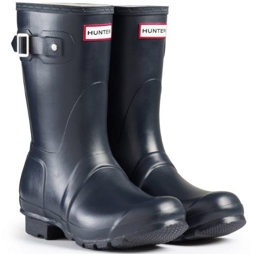 Hunter Women's Original Short Rain Boots Navy/Matte