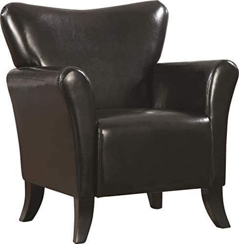 Coaster Home Furnishings Antonio Upholstered Chair Black,