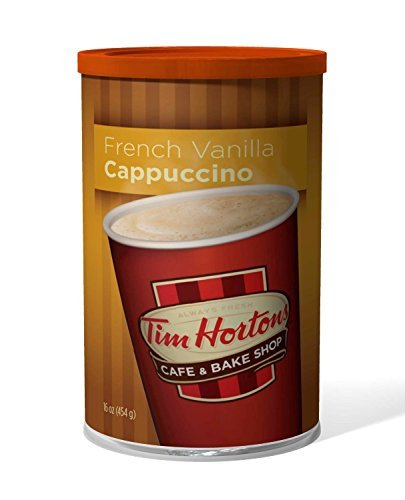 tim-hortons-instant-cappuccino-french-vanilla-16-ounce-by-tim-hortons