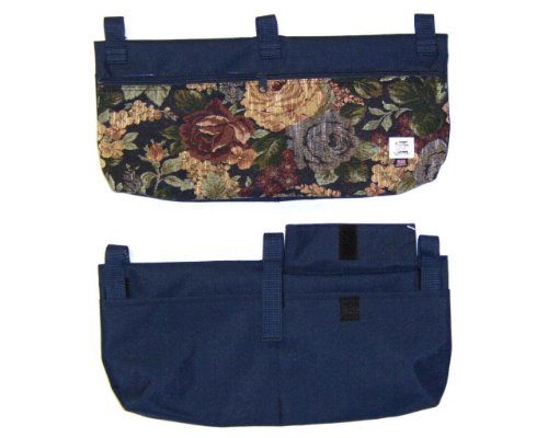 Handi Pockets 2C7WM Storage Accessory Walker, Tapestry Westmont with Zipper and Flap by Handi Pockets