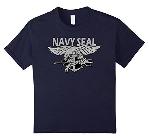 Kids NAVY SEALS T-SHIRT ORIGINAL NAVY SEALS TEAM GIFT SHIRT 8 Navy