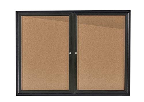 AdirOffice Enclosed Bulletin Boards - 48