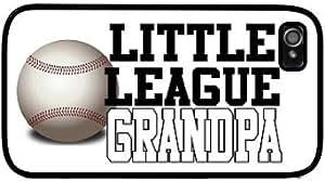 Little League Grandpa Baseball Style #2 Apple iPhone 4 4S Case Cover Skin Black