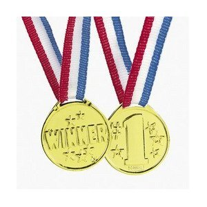 Winner award medals - 72 pc bulk wholesale lot for sale  Delivered anywhere in USA