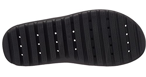 Nike Men's Jordan Super.Fly Team Beach and Pool Shoes Black (Black/University Red 062) w769JQlX