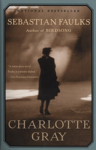 Book cover from Charlotte Gray by Sebastian Faulks