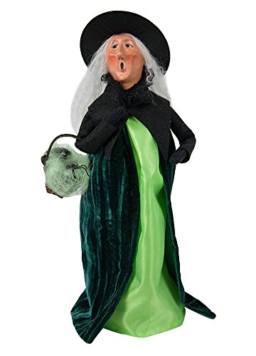 Byers' Choice Spider Witch Caroler Figurine #7182 from The Halloween Collection (New 2018)