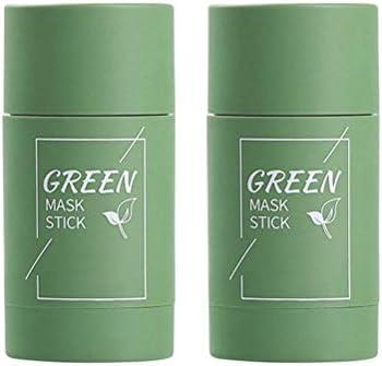 Wawogic Reiniging groen Stick Cleansing Solid Mask Green Tee Stick Mask Reiniging Tonstick Masker Oil Control Antiacne Aubergine Huidverzorging