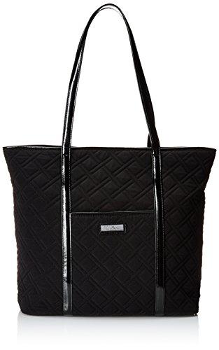 Vera Bradley Trimmed Vera 3 Shoulder Bag Classic Black W Black One Size