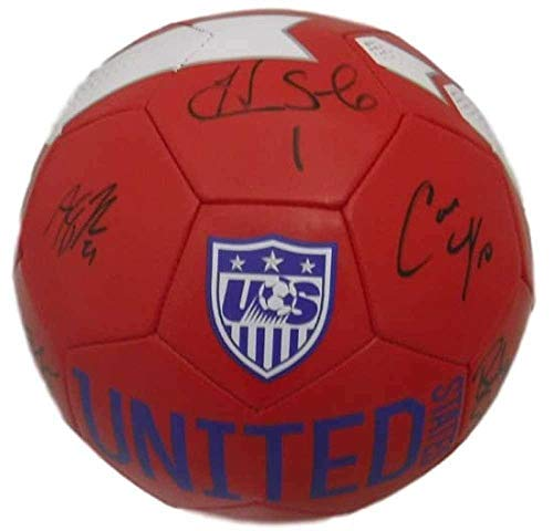 USA Womens Soccer Autographed Nike Soccer Ball Lloyd Solo +7 14012 - JSA Certified - Autographed Soccer Balls