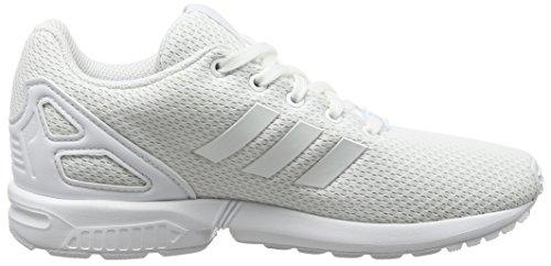 adidas Zx Flux, Zapatillas para Niños Blanco (Ftwbla/Ftwbla/Ftwbla)