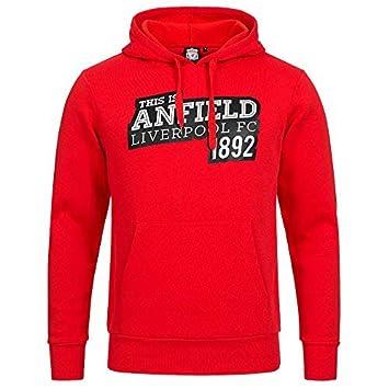 Sudadera con capucha oficial del Liverpool FC Anfield EST1892 de ...