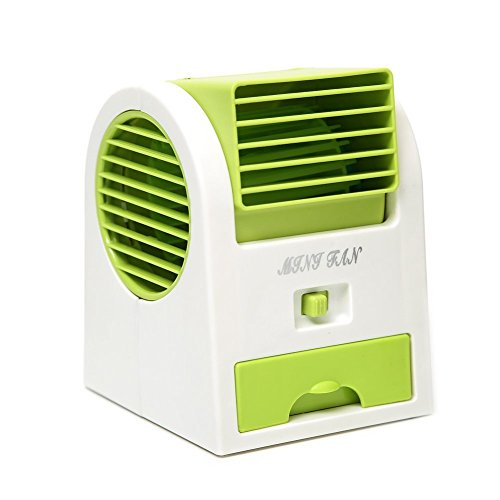 USB Electric Air Conditioning Mini Fan Air cooler (Green) - 3