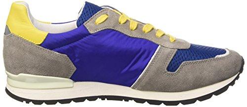 Mant Uomo Multicolore L suede top yellow Bikkembergs Nylon M grey 650 Scarpe blue shoe Low dSqPxRv
