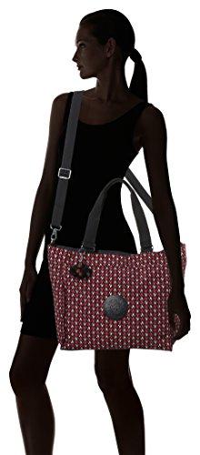 L New bandoulière Sacs Shopper Kipling Multicolore Chevron Pink gEdwvqqf