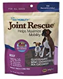Ark Naturals Sea Mobility Joint Rescue Chews, Beef, Increase Flexibility, Mobility and Joint Comfort, Vet Recommended for All Dog Breeds, 500 mg Glucosamine, 9 oz. Bag