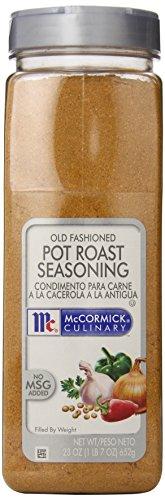 McCormick Culinary Old Fashioned Pot Roast Seasoning, 23 oz. (Roast Seasoning compare prices)